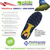 SCHÜTZE-SCHUHE TOP TECH 4 PLUS ST mit Lammfellfutter S3