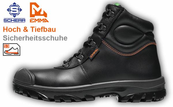 EMMA LUKAS Hoch & Tiefbau S3 Sicherheitsschuhe